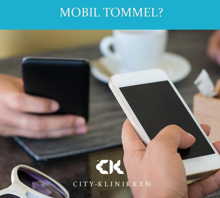 Har du vondt i tommelen? Kan de være «mobil tommel»?