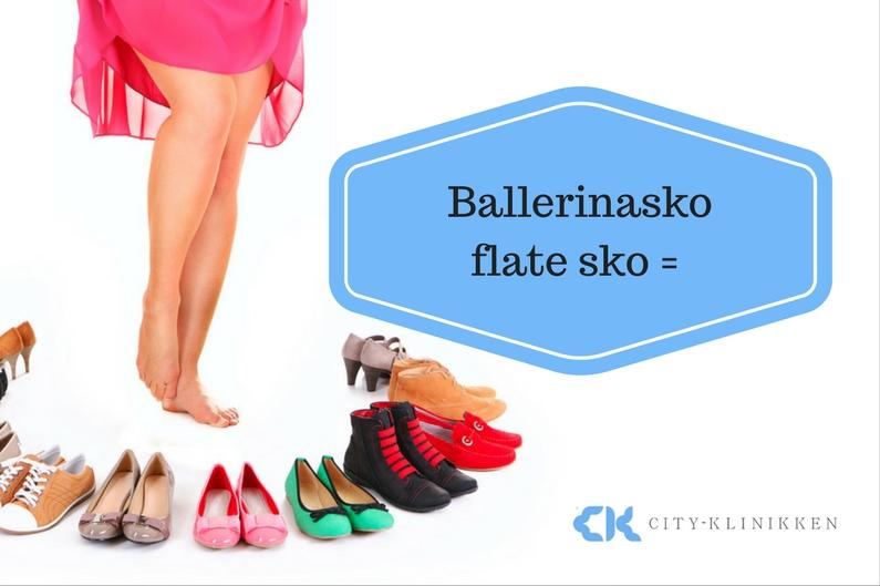 Ballerinasko/ flate sko=